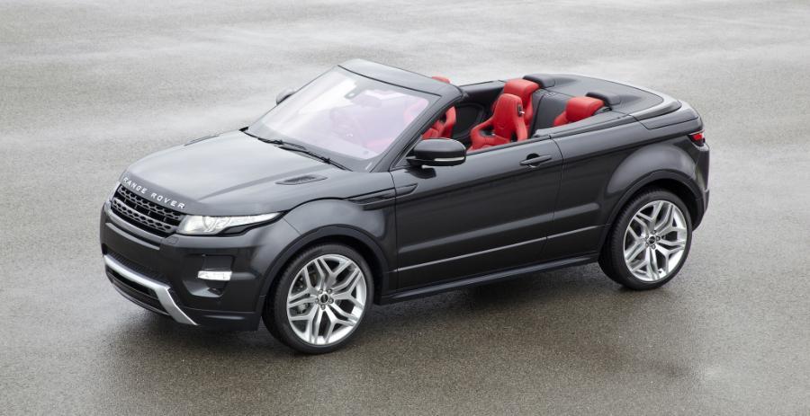 Range Rover Evoque Convertibile: un SUV unico