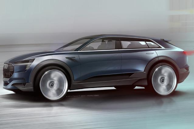 noleggio Audi e-tron
