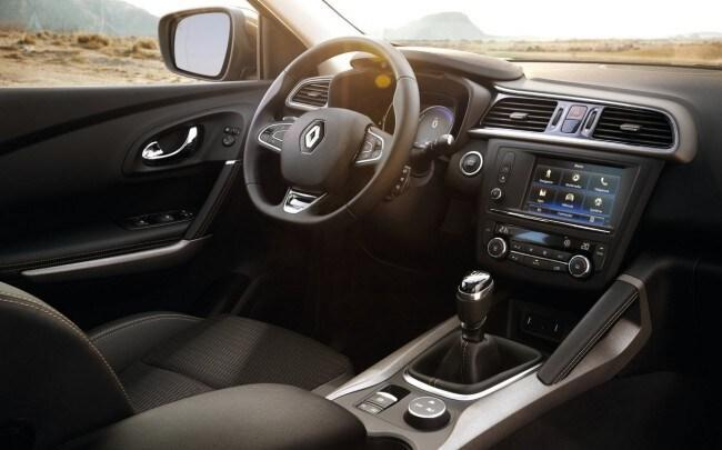 noleggio Renault Kadjar interni
