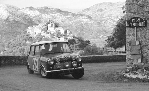 noleggio Mini Cooper 1961