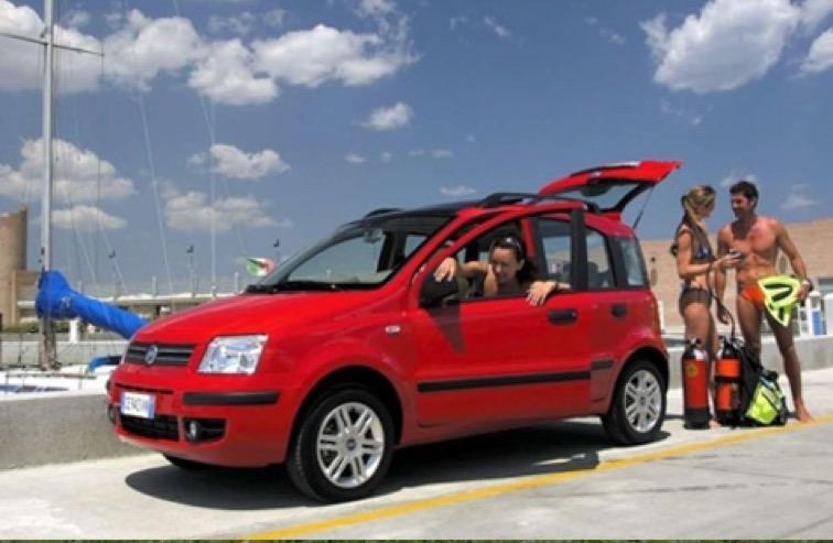 noleggio Fiat Panda 2