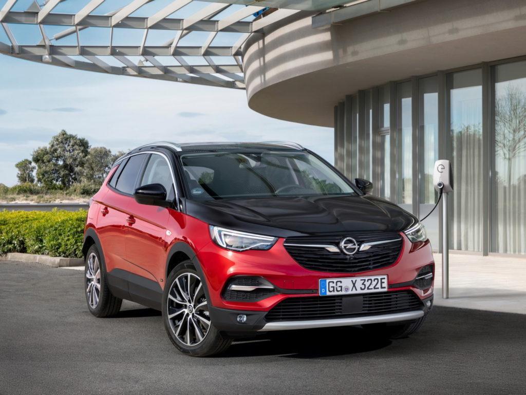 Nuova Opel Grandland X Hybrid