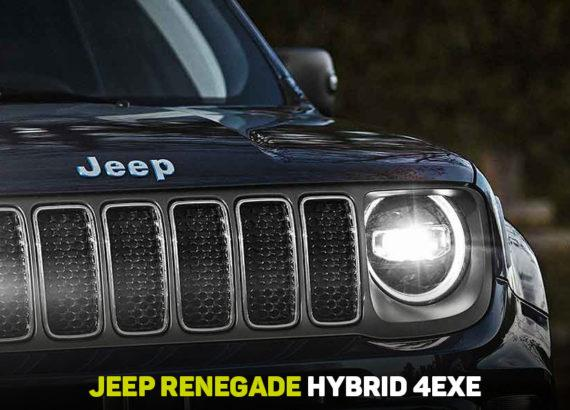 nuova jeep renegade ibrida