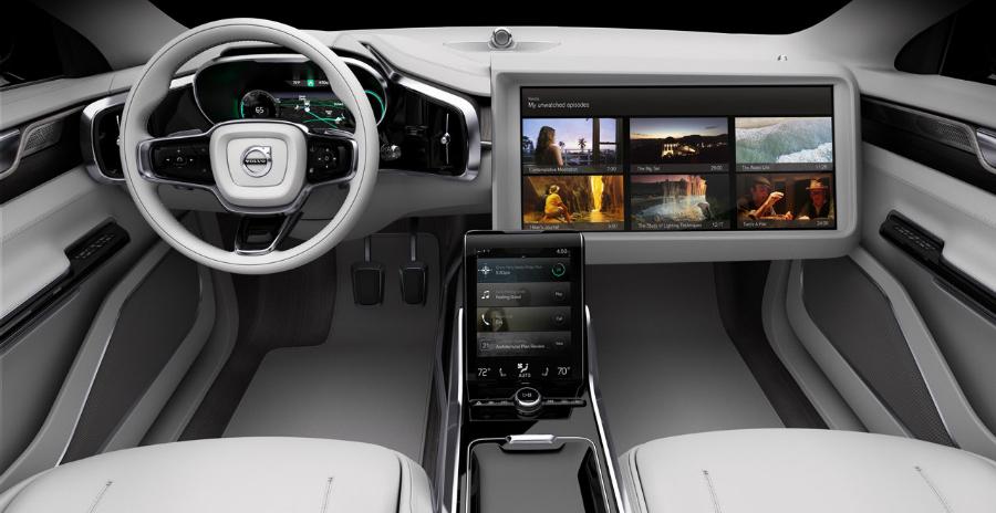 Al Salone di Los Angeles è stata mostrata un'auto che permette di rilassarsi e distrarsi nel traffico di ogni giorno. - News Automotive