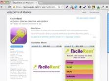 FacileRent lancia la propria applicazione