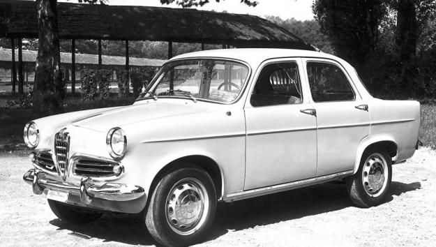 noleggio Alfa Romeo Giulietta 1955