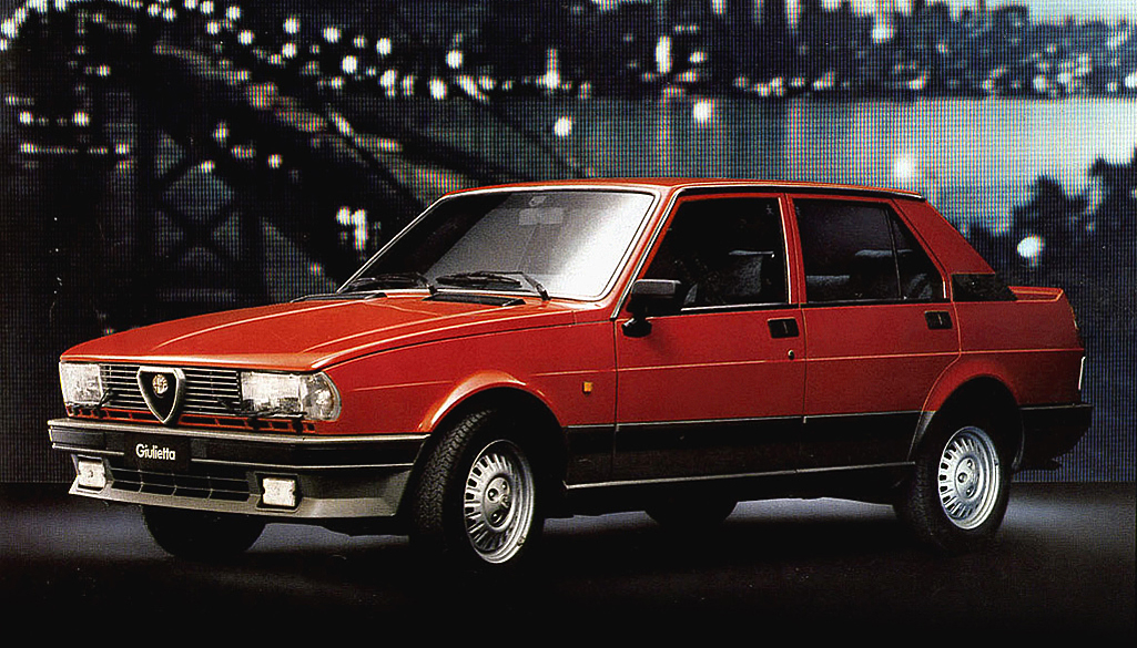 noleggio Alfa Romeo Giulietta 1977