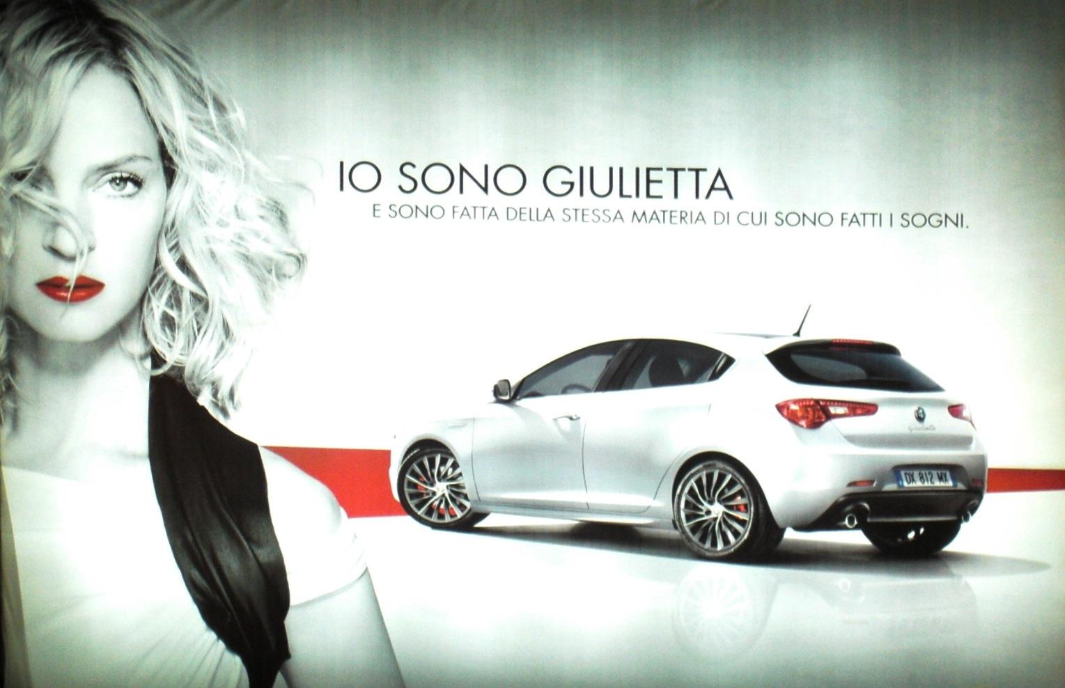 noleggio Alfa Romeo Giulietta 2010