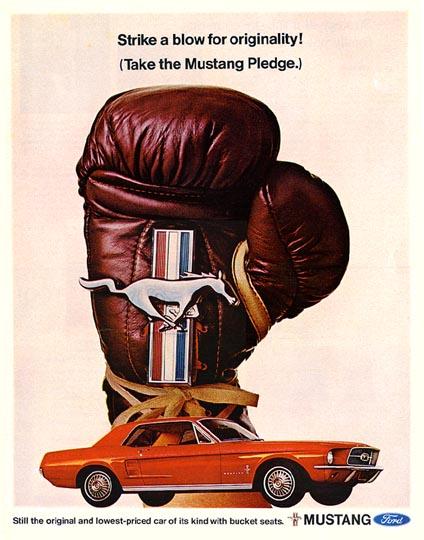 noleggio Mustang Pledge