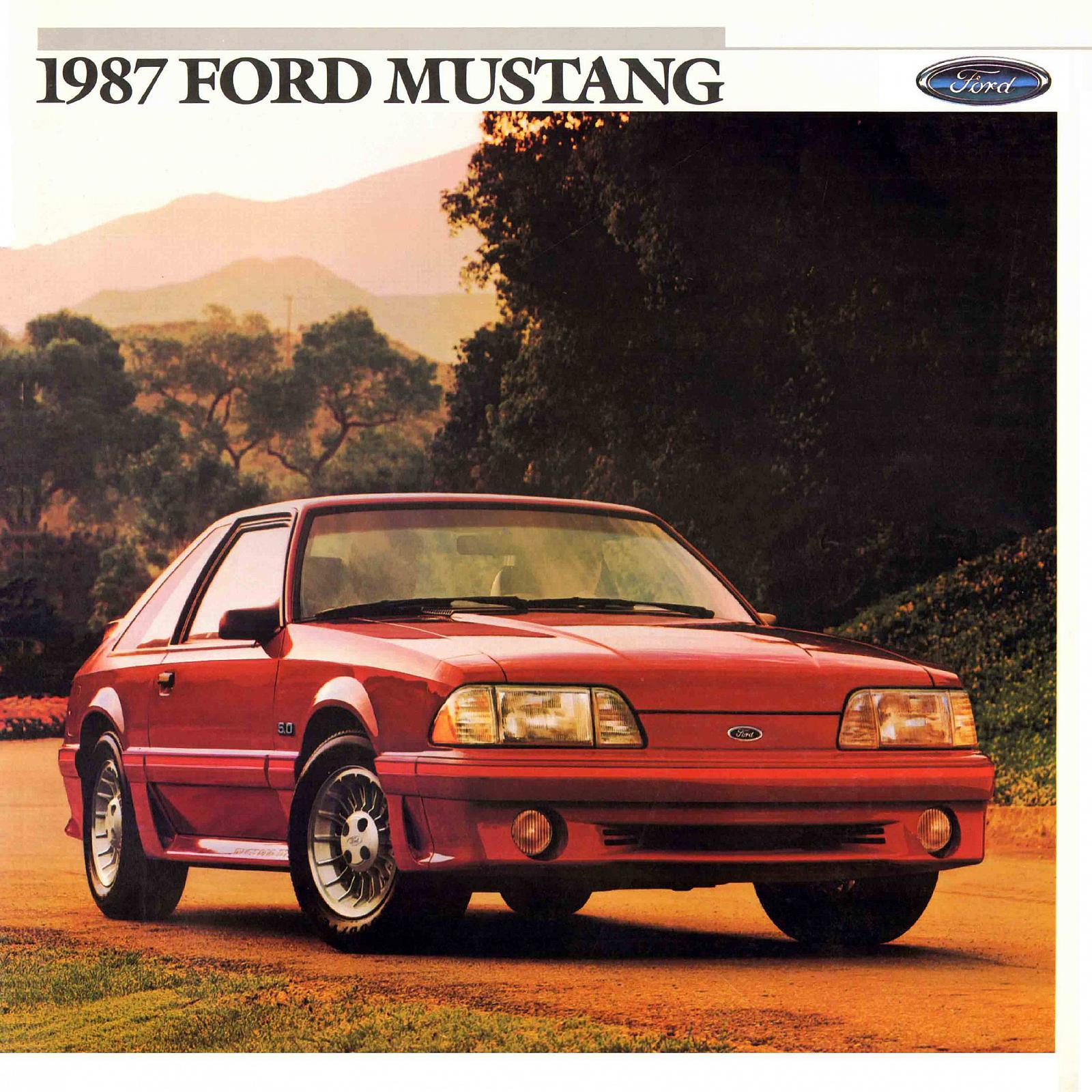 noleggio Ford Mustang 1987