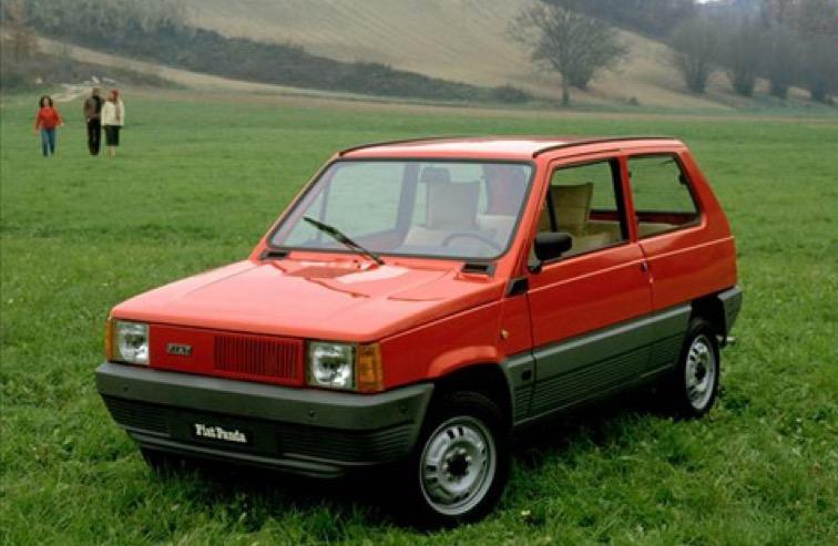 noleggio prima Fiat Panda