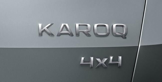 noleggio Skoda Karoq 2017