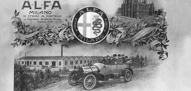 La storia dell'Alfa Romeo raccontata dalle pubblicità