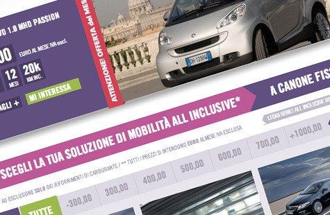 Facile Rent cambia l'abito e lancia www.facilerent.it - News da Facilerent