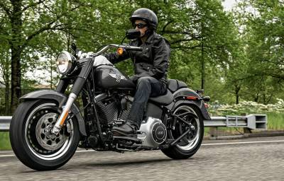 Noleggio lungo termmine Harley Davidson Softail Fat Boy Special