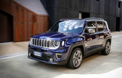 Foto Jeep Renegade - Offerta Noleggio Chiaro